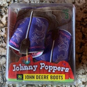 Infant size 3 cowgirl boots
